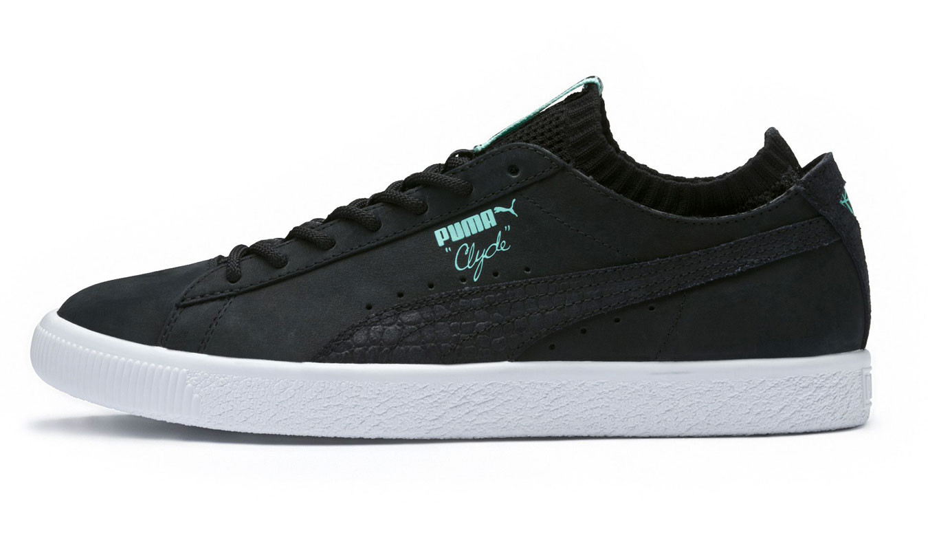Schwarz sneakers Puma x Diamond Clyde Sock Lo 48