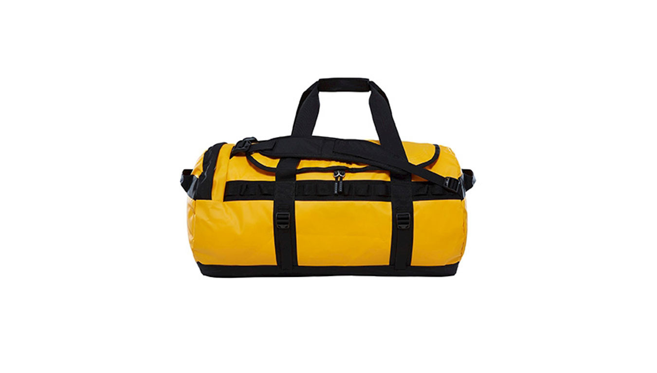 best sneakers fbe1a 31fe0 The North Face Base Camp Duffel - M Sumitgld Tnfblk T93ETPZU3